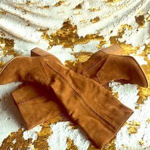Brown Steve madden Roxanna tall boots